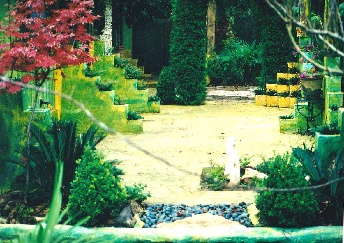 Arte garden austin texas landscaping design for Garden artist designs
